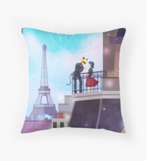 Hey There Purrincess~ Throw Pillow