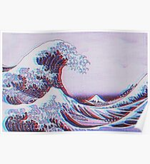 The great wave off kanagawa 3D Poster