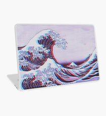 Die große Welle weg von Kanagawa 3D Laptop Skin