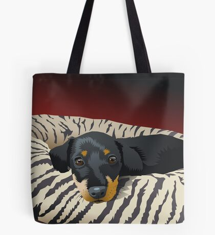 The hunter rests Tote Bag