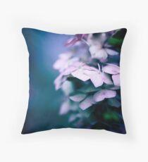 Passionate Hydrangea Throw Pillow
