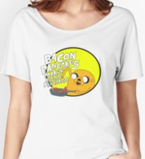 adventure time bacon pancakes Women's Relaxed Fit T-Shirt