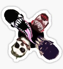 "Finn Balor (Prince Devitt) ""4 faces"" T - Shirt Sticker"