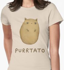 Purrtato Women's Fitted T-Shirt