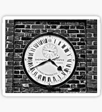 GMT Clock Sticker