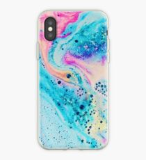 Neon Marble Effect iPhone Case