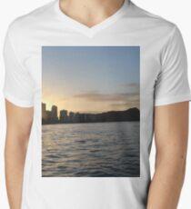 Waikiki Sunrise Men's V-Neck T-Shirt