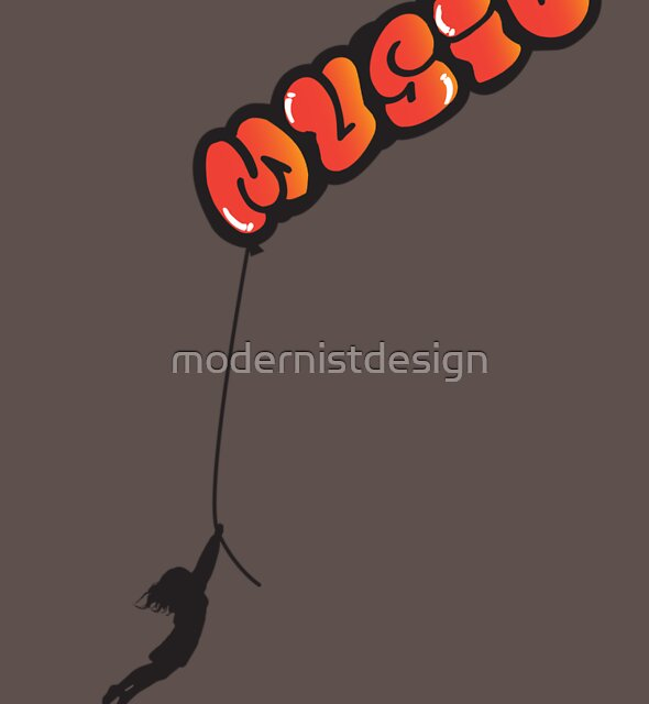 Can't Stop The Music by modernistdesign