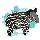 Baby Tapir by Maxwbender