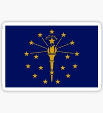 Indiana Flag Sticker