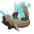 Blue Spotted Mudskipper by Maxwbender