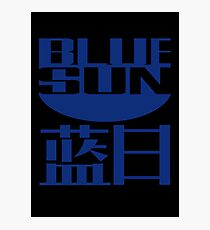 Blue Sun Corporation Photographic Print