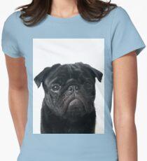 Hugo - The Black Pug Womens Fitted T-Shirt