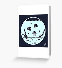 A Home for Jellies Greeting Card