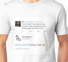 Hating? Nah Unisex T-Shirt