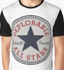 Deplorable All Stars Graphic T-Shirt
