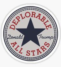 Deplorable All Stars Sticker