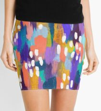 Jules - Abstract Mini Skirt