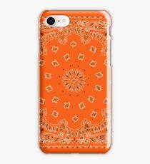 Orange Hanky,Handkerchief iPhone Case/Skin