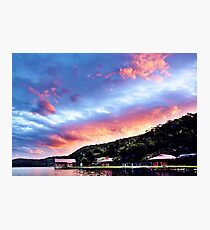Sky Fire Sunset. Photo Art, Prints, Gifts, and Apparel. Photographic Print