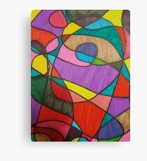 Color Mash up Canvas Print