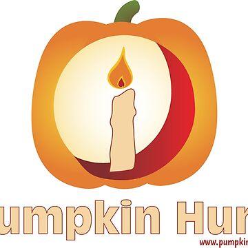 Pumpkinhunt: Logo Stacked by kindawonderful