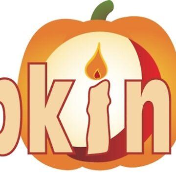 Pumpkinhunt: Logo Traditional by kindawonderful