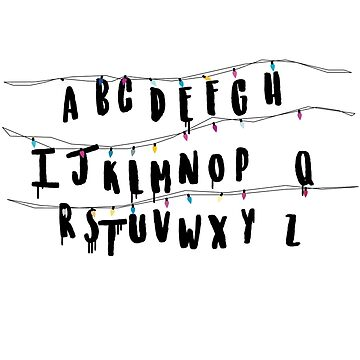 Stranger Things Letters by atoprac59