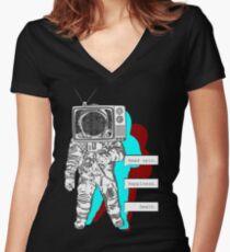 Lethargy - Bastille Women's Fitted V-Neck T-Shirt