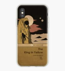 The King in Yellow iPhone Case
