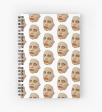 Alyssa Edwards Beauty Mask - Rupaul's Drag Race All Stars 2 Spiral Notebook