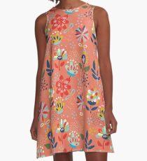 Wild Flowers A-Line Dress