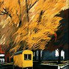 Gelbe Pause by HannaAschenbach