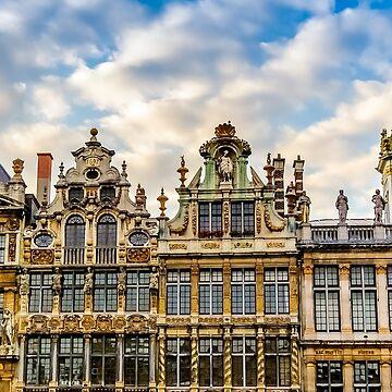 Grand Place Facades by FelipeLodi