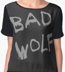Bad Wolf Spraypaint Chiffon Top
