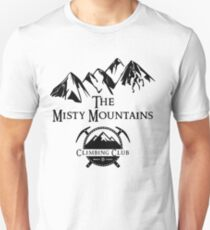 Misty Mountains Climbing Club, LOTR Parody  Unisex T-Shirt