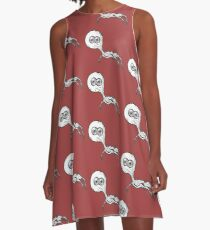 Double Iris Eyeball-LIMITED TIME ONLY A-Line Dress