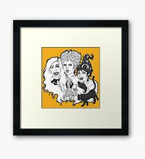 Hocus Pocus Witches-LIMITED TIME ONLY Framed Print