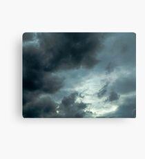 sky storm Canvas Print