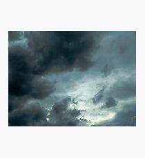 sky storm Photographic Print