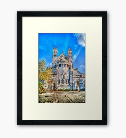 Saint-Michel Church Framed Print