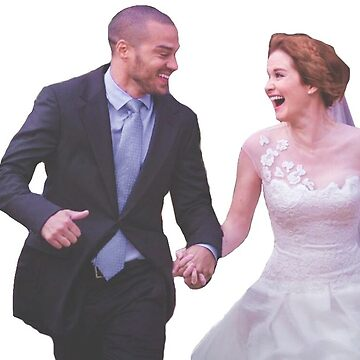 JACKSON + APRIL (JAPRIL) STICKER by sarahsdrew