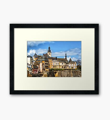 Luxembourg Heights Framed Print