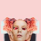 Red Face Time. Collage ® by creative-bubble