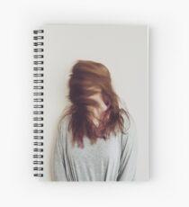 Sin cara Spiral Notebook