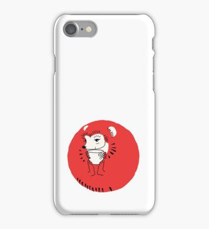 Tea Time for Hedgehog iPhone Case/Skin