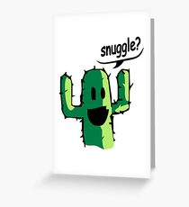 Snuggle? Greeting Card