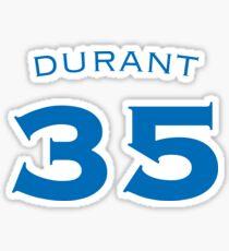 DURANT #35 Sticker