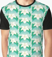 Lotus comb Graphic T-Shirt