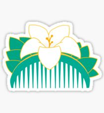 Lotus comb Sticker